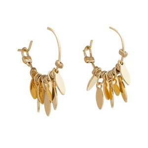 Garrigue hoops earrings