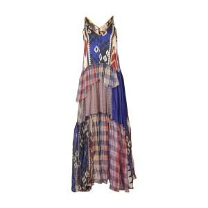 Patchwork tartan Organza dress