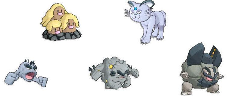 Forma de Alola demo Pokémon Sol Luna