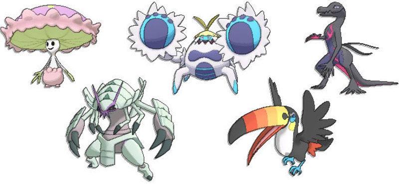 Pokémon Sol Luna evoluciones filtradas