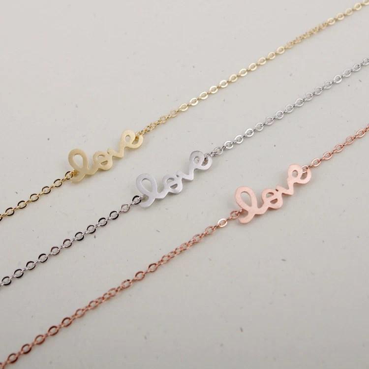 LOVE Bracelet in Pink Gold