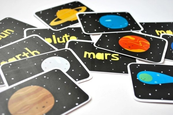 Printable Cards The Solar System Set