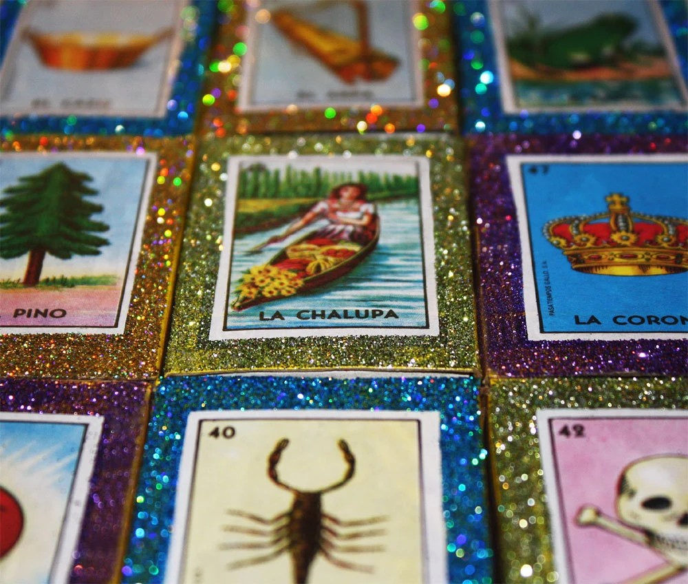 Mexican Loteria Wedding Favors 50 Matchboxes