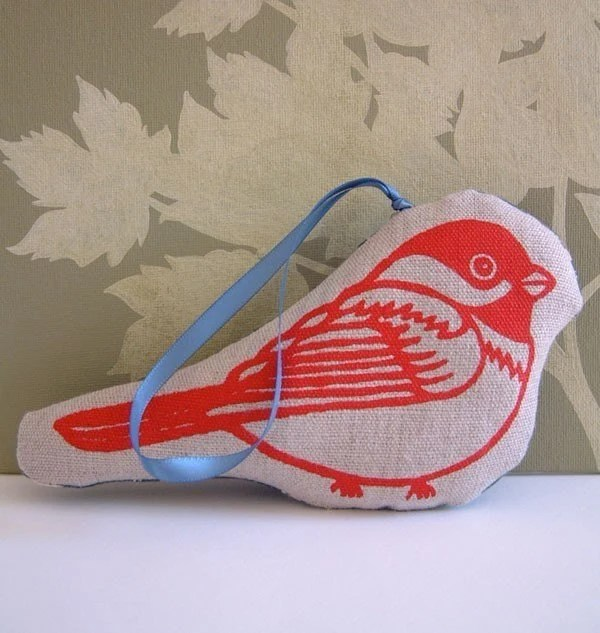 Chickadee - Holiday (or anytime) Ornament - BirdNerd