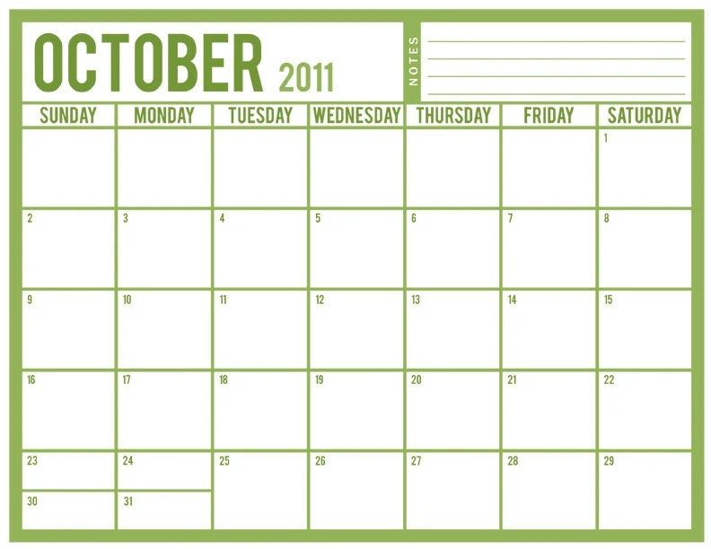 Simple twelve months template, portrait orientation. Printable 12 Month Calendar by crystalnale on Etsy