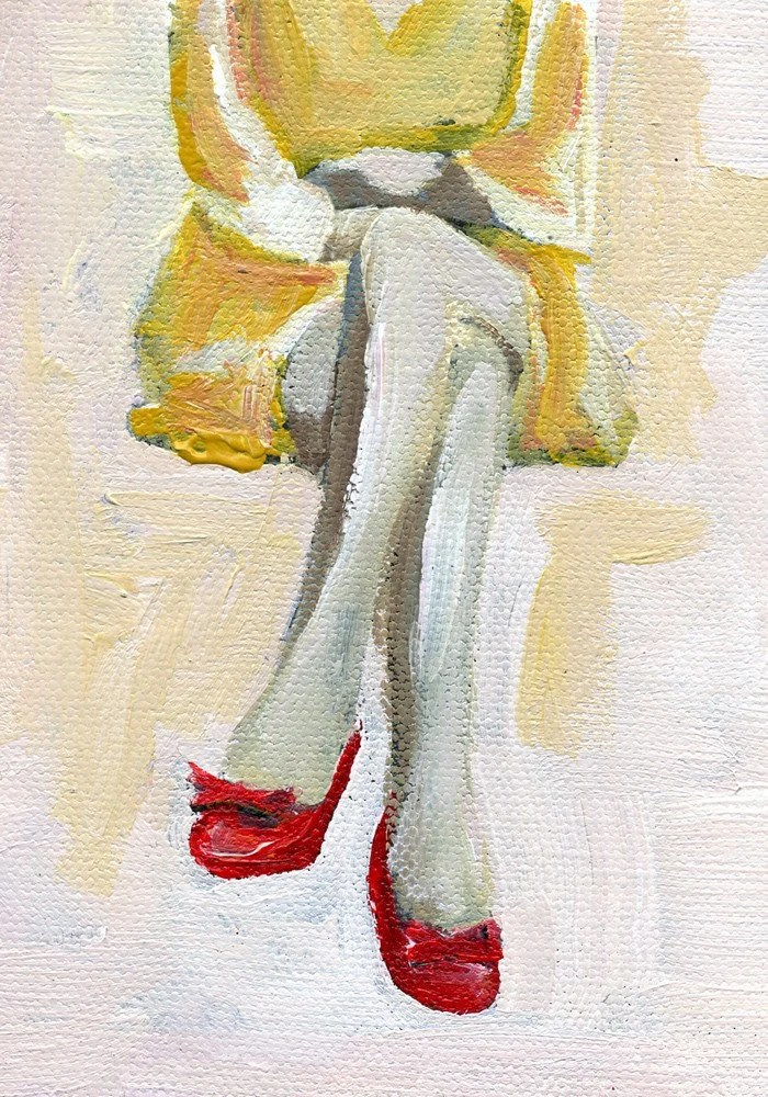 The Woman in the Red Heels