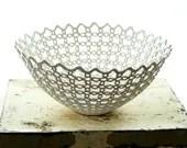 Carved Porcelain Fruit Bowl - isabelleabramson