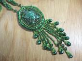 Handmade Turtle Necklace -- Beaded Woodland Jewelry - ErtheFae