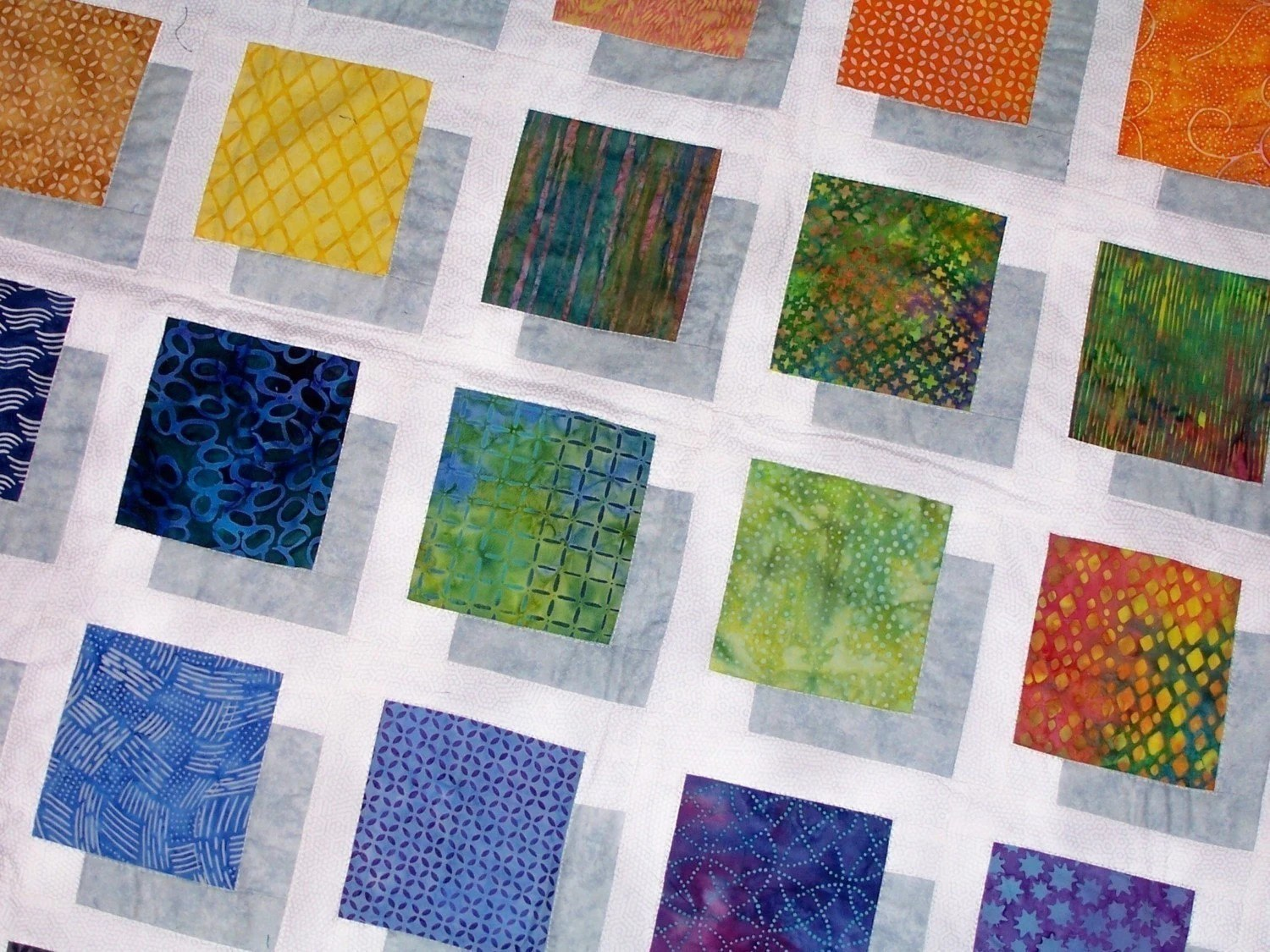 Color Block Quilt Pattern To Make This Stunning Quilt Full