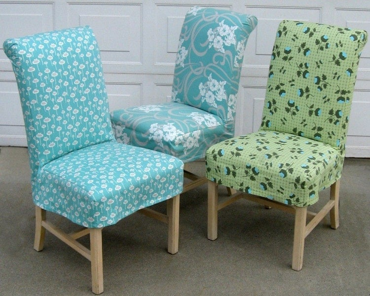 Parsons Chair Slipcover PDF Format Sewing Pattern By