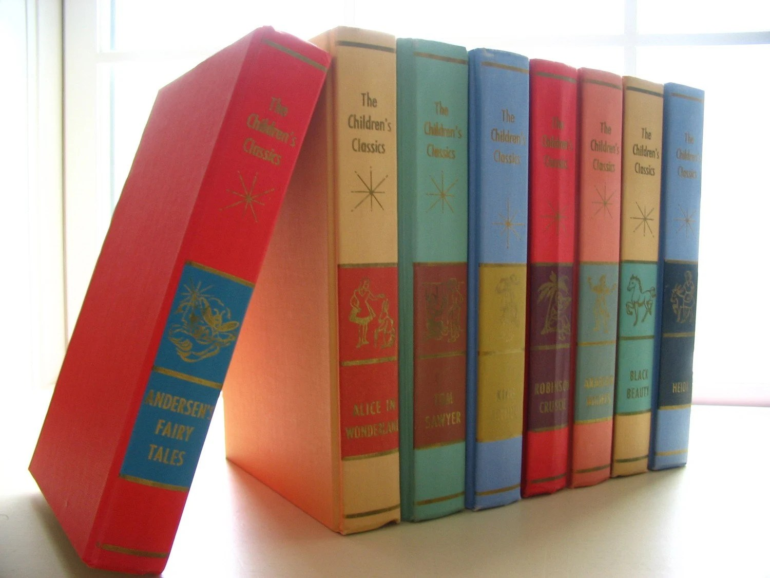 Set Of 8 The Children S Classics Hardcover Books