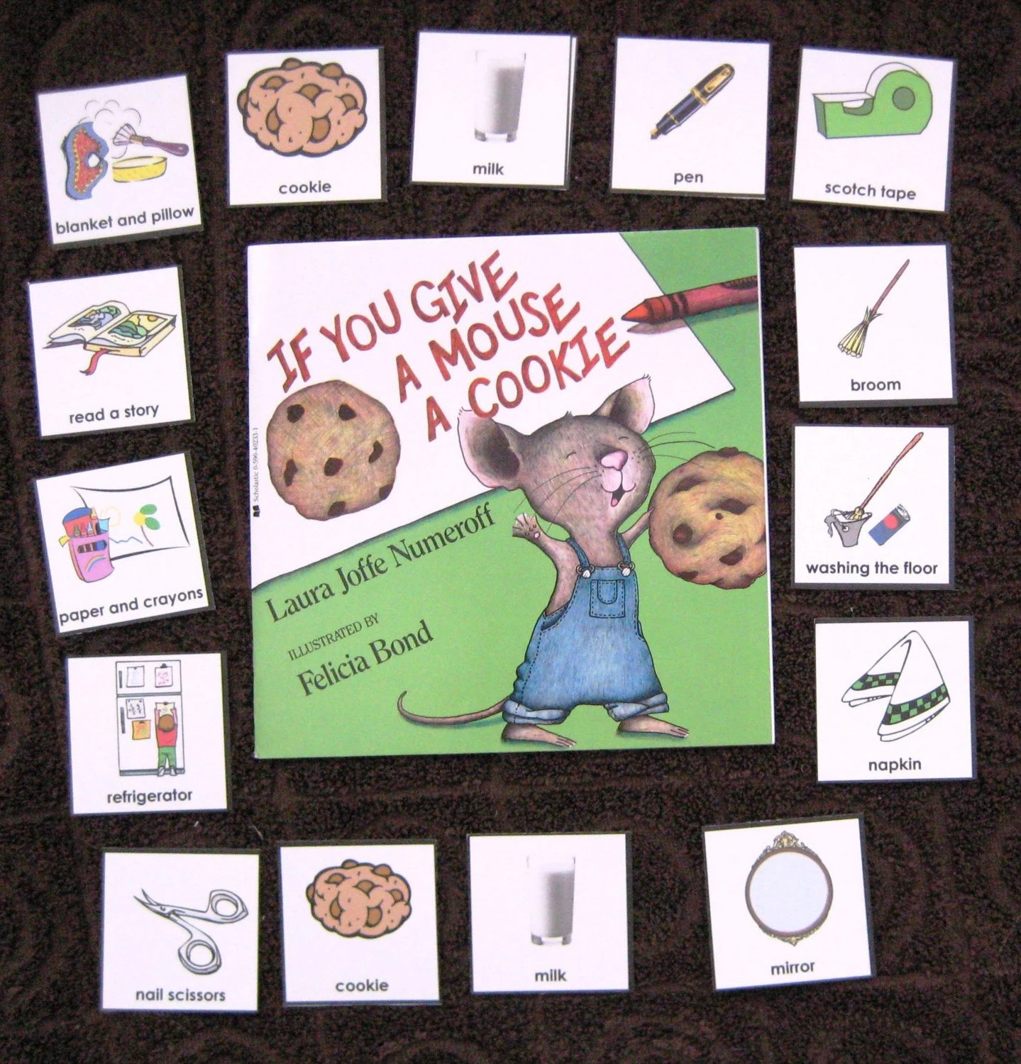 If You Give A Mouse A Cookie Literacy Unit