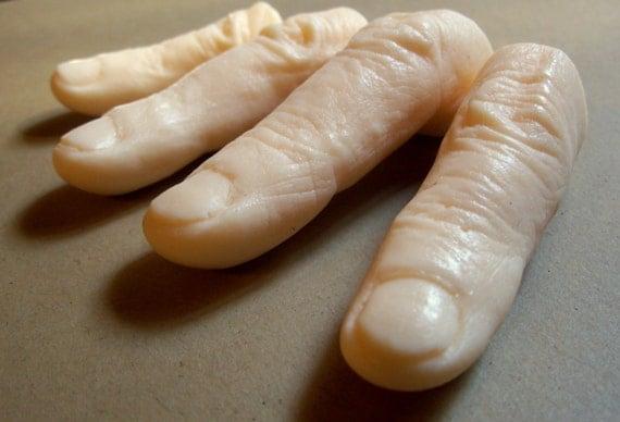 Halloween Finger Soaps