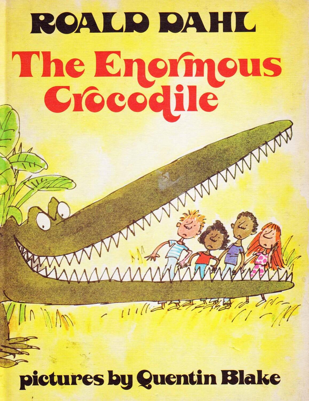 The Enormous Crocodile By Vintagekidsbooks On Etsy