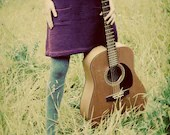 Guitar Girl - Fine Art Photograph - janeheller