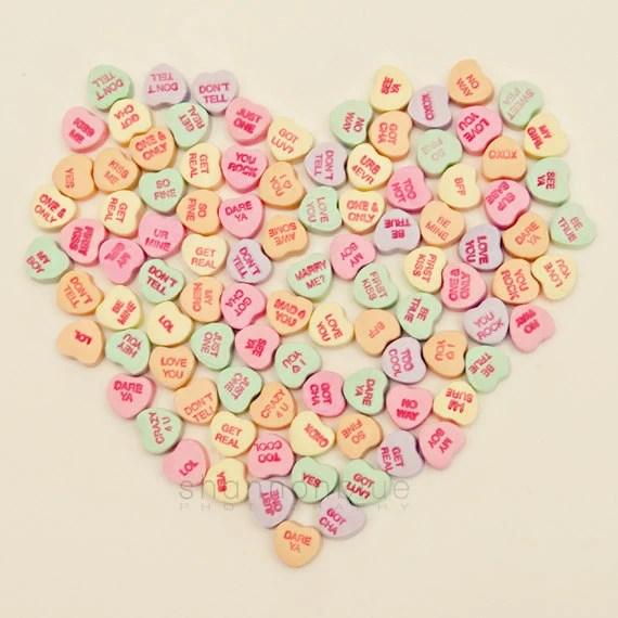 Valentine Conversation Heart Can S
