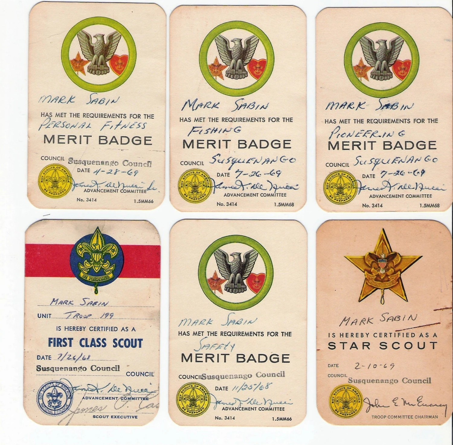 Boy Scout Merit Badge Cards S Be Prepared 10 Cards Boy
