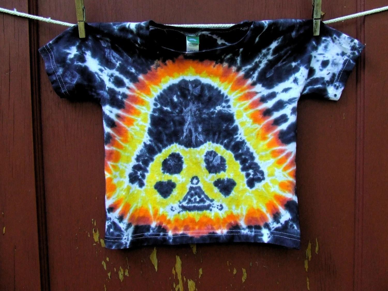 Star Wars Tie Dye T Shirt Darth Vader Toddler 4T Ready