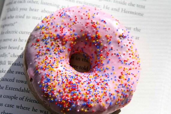 Pink Doughnut Soap
