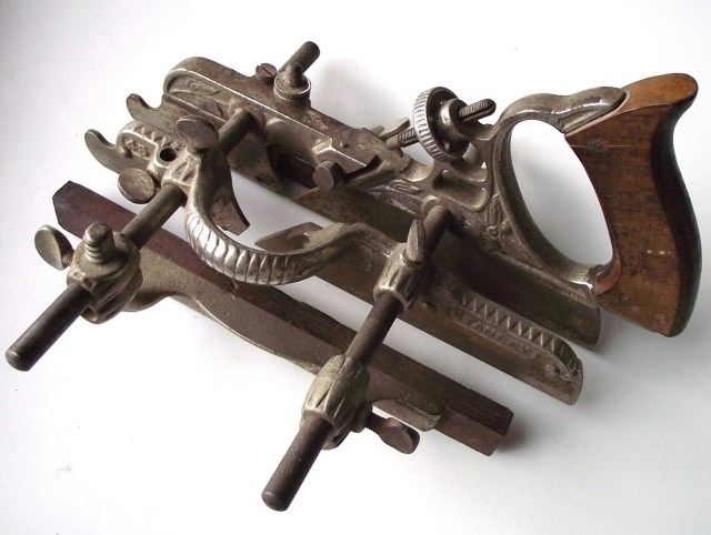 Vintage Stanley Rule No. 45 Plough Plane by sunsetturnings