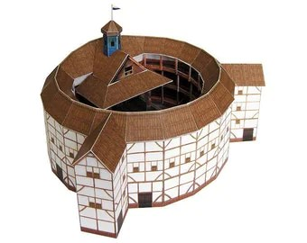 Globe Theatre Paper Model (KIT)
