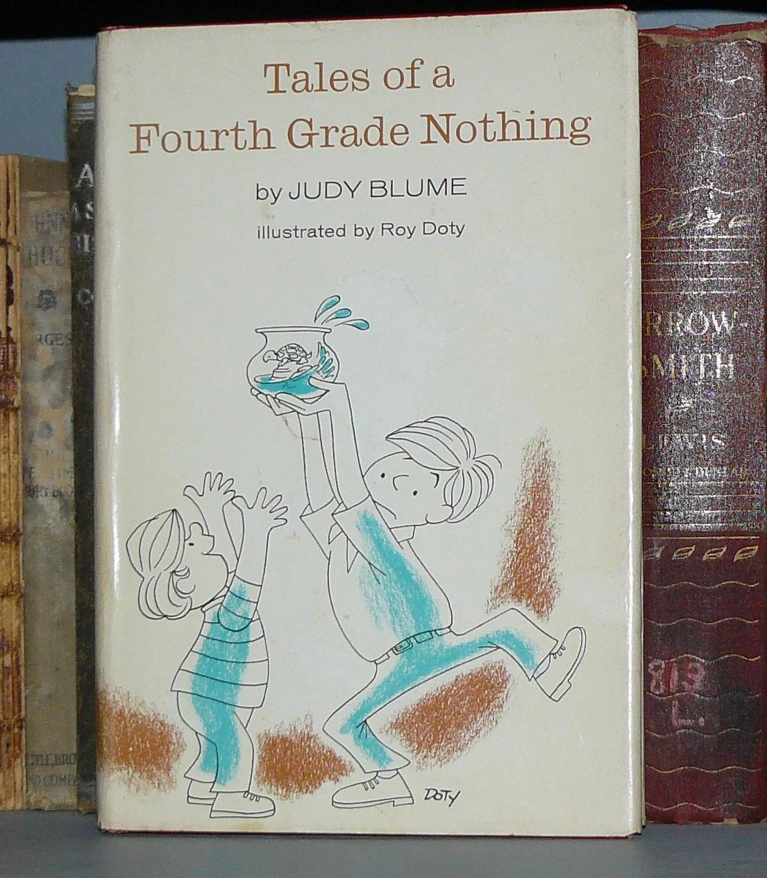 Vintage Hardback Tales Of A Fourth Grade Nothing By Judy Blume