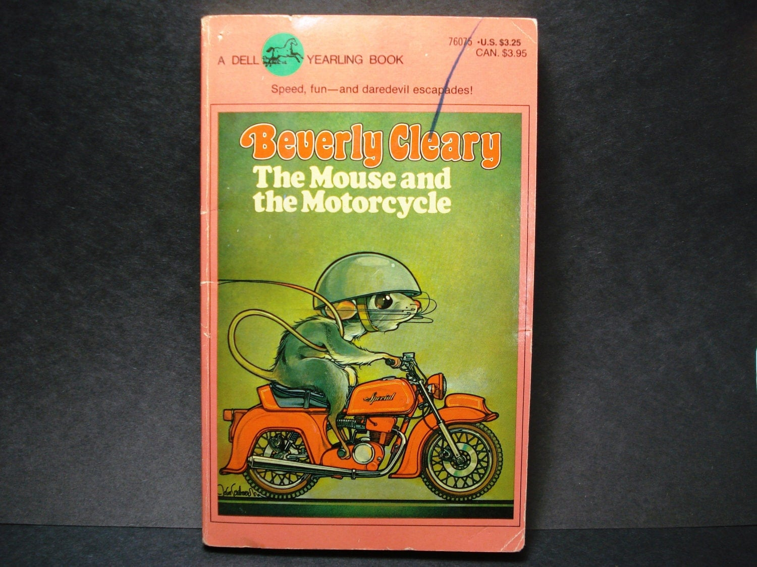 The Mouse And The Motorcycle Beverly Cleary Paperback