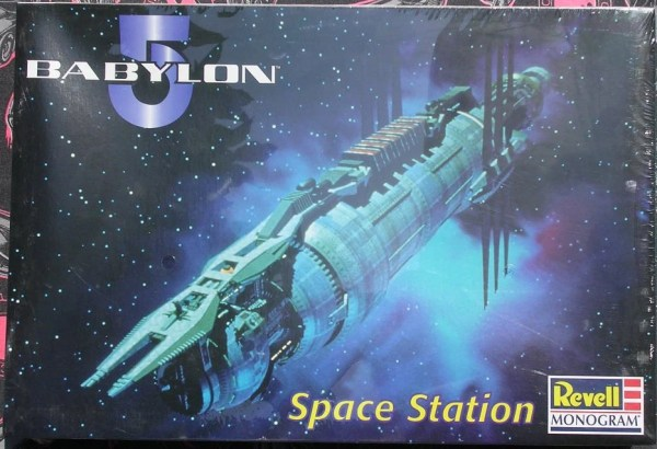 Rare Babalon 5 Space Station model kit Out of by ...