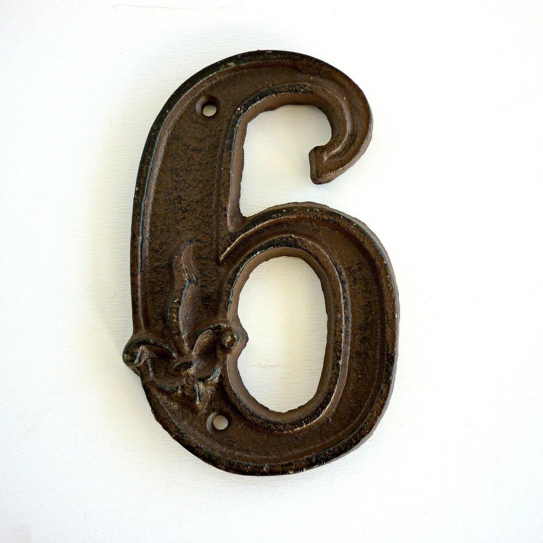 Vintage Number 6 Cast Iron
