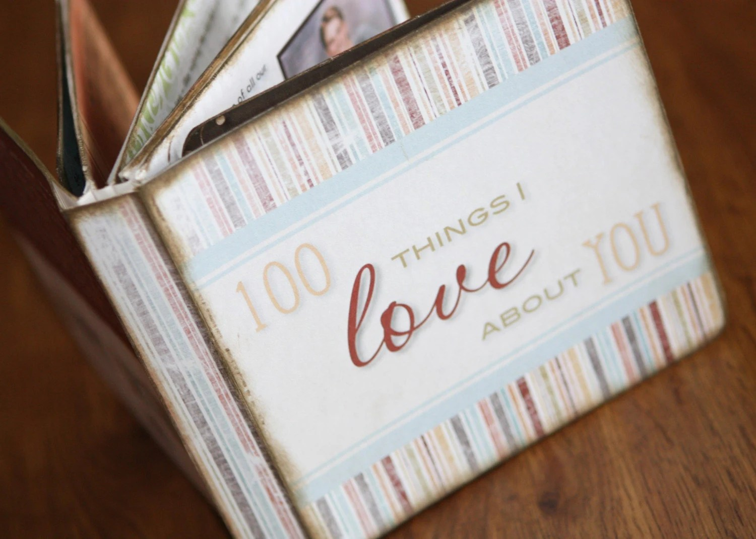 100 Things I Love About You Personalized By Londonberrydesigns