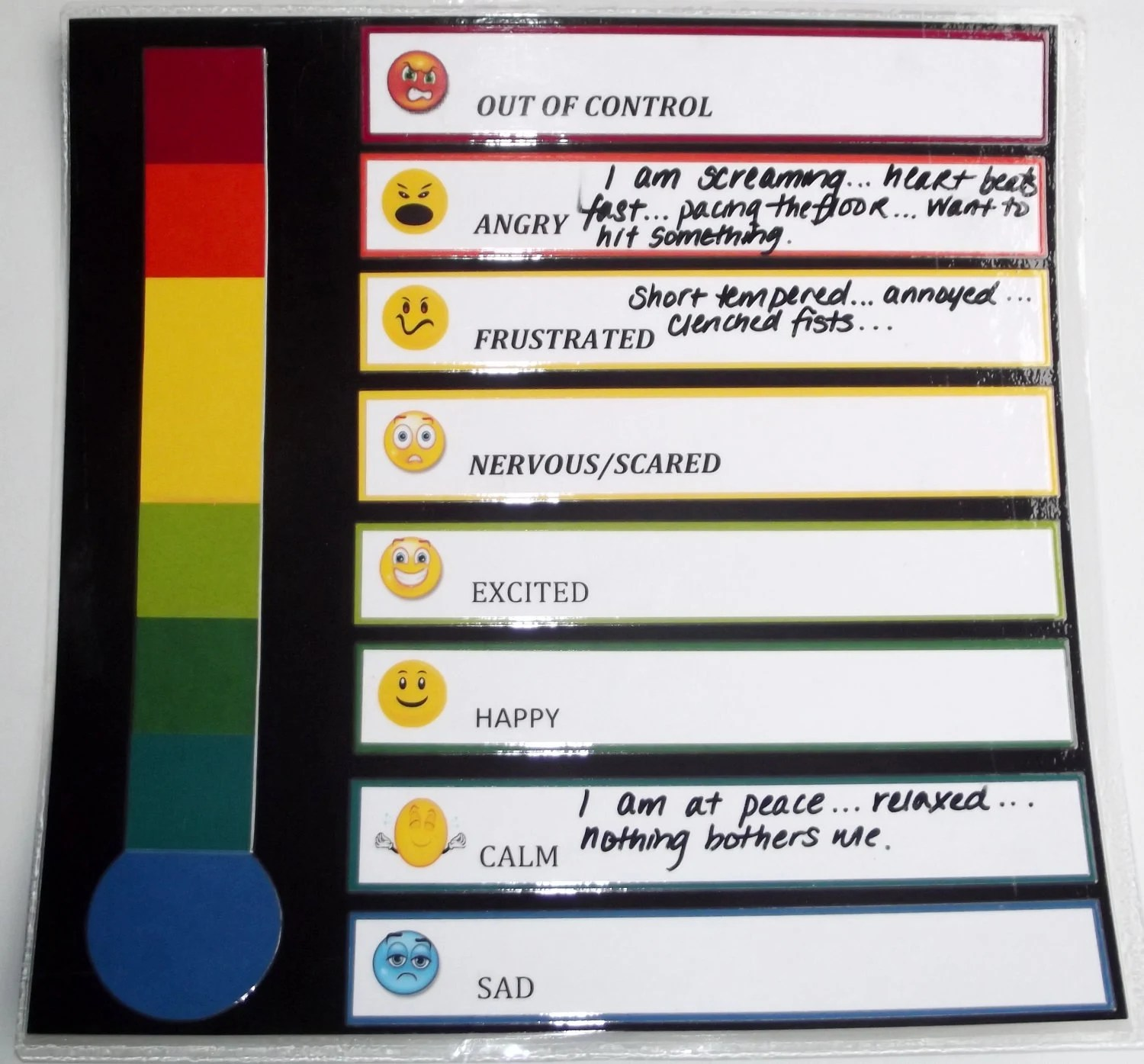 Items Similar To Emotional Feeling Mood Thermometer