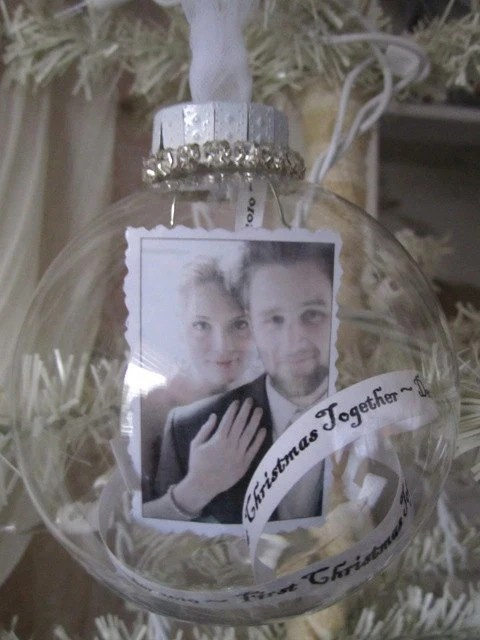 Personalized First Christmas Together Ornament By
