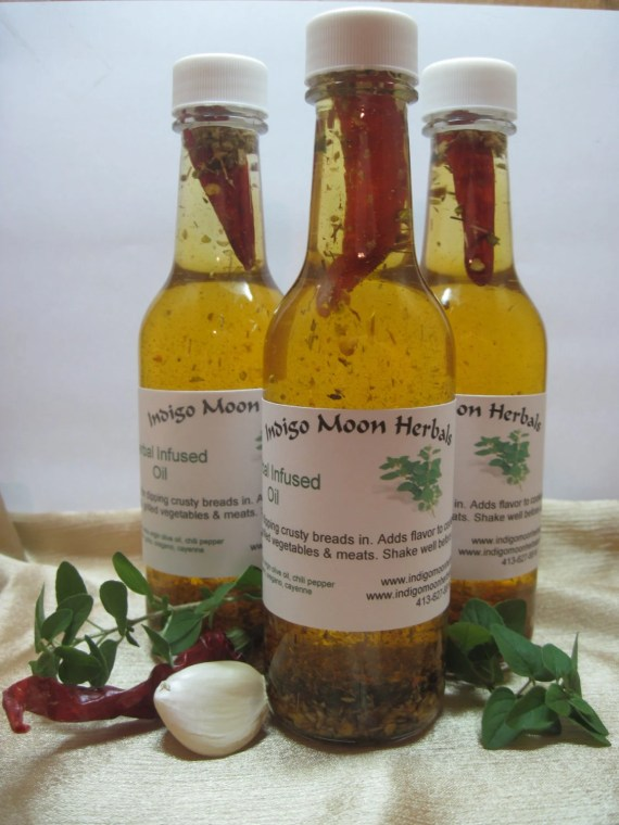Herbal Dipping Oil 5 ounces (pasta, salad dressing, hostess gift, kitchen) - indigomoonherbals
