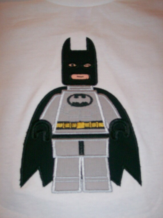 Custom Lego Batman With Cape Shirt Sizes 3T To By