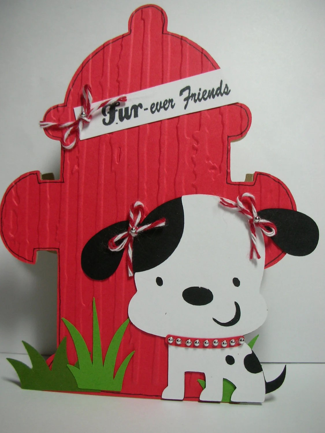 Items Similar To Fire Hydrant And Puppy Shaped Handmade