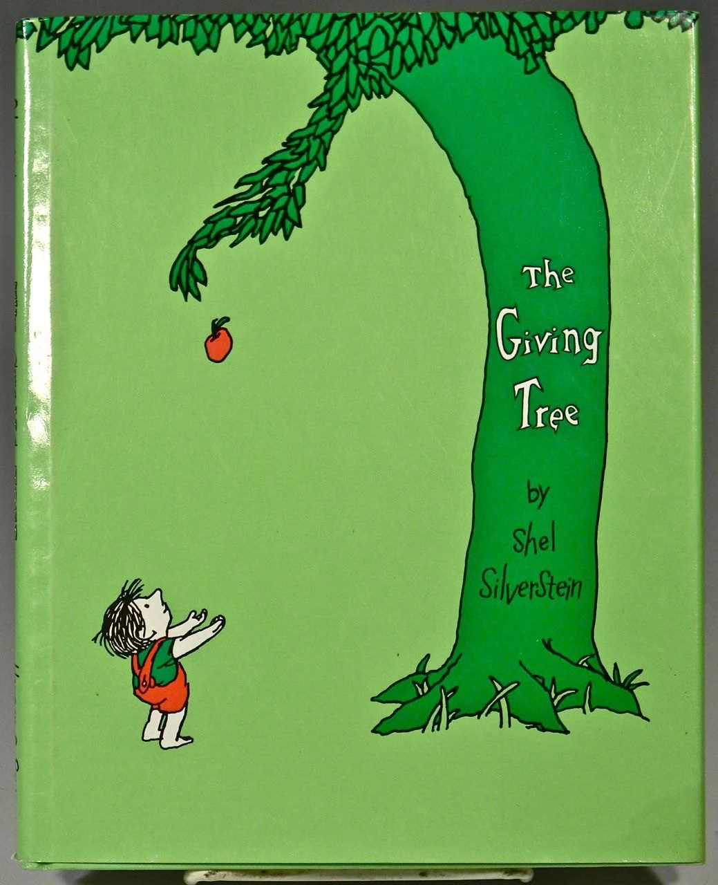 Children S Book The Giving Tree By Shel By Dancingfaunemporium