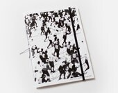 Bon Matin Blank Book - Vive les sports d hiver - black - BonMatinProducts