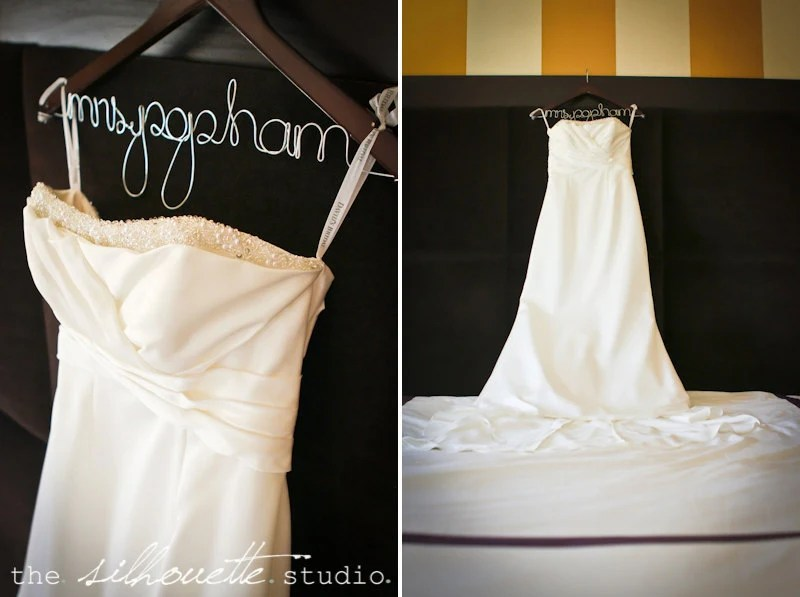 Personalized Wedding Dress Hanger Bridal By