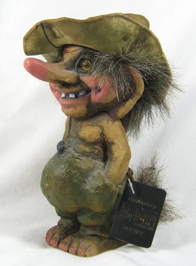 Nyform Troll Statue By Artist Trygve Torgersen Handmade