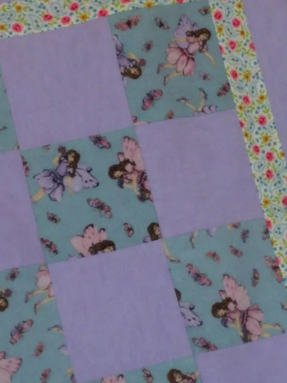 Fairy Patchwork Blanket