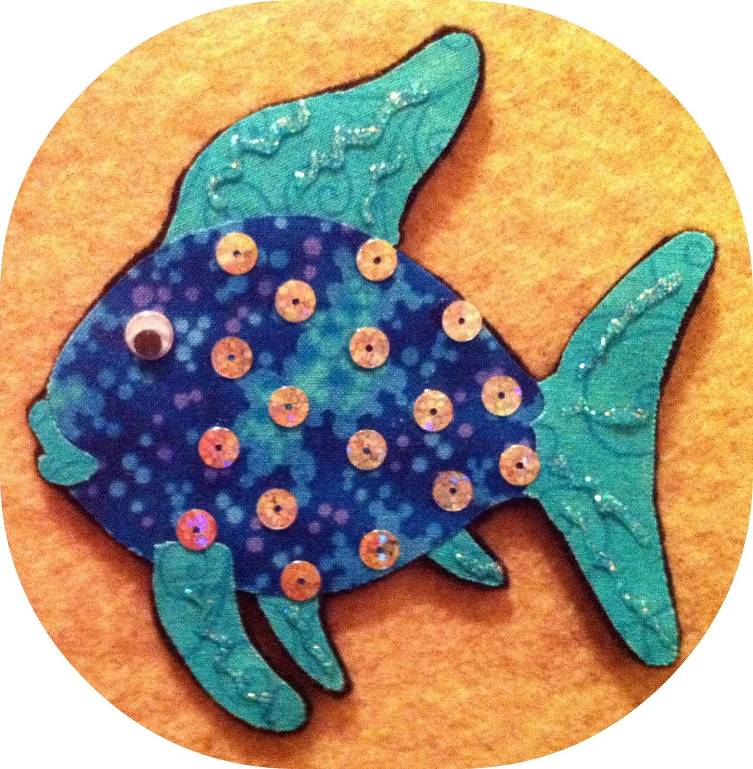 Rainbow Fish Flannel Board Felt Board Story