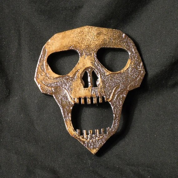 Lord Mock's Skull Planchette (Spirit Pointer)