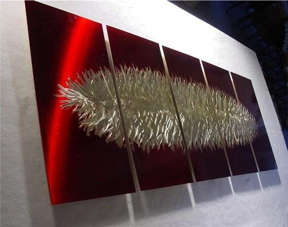 Items Similar To Painting Metal Wall Art Abstract