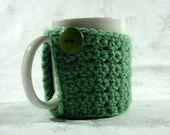Coffee Mug Cozy - Seafoam - CrimsonMosquito