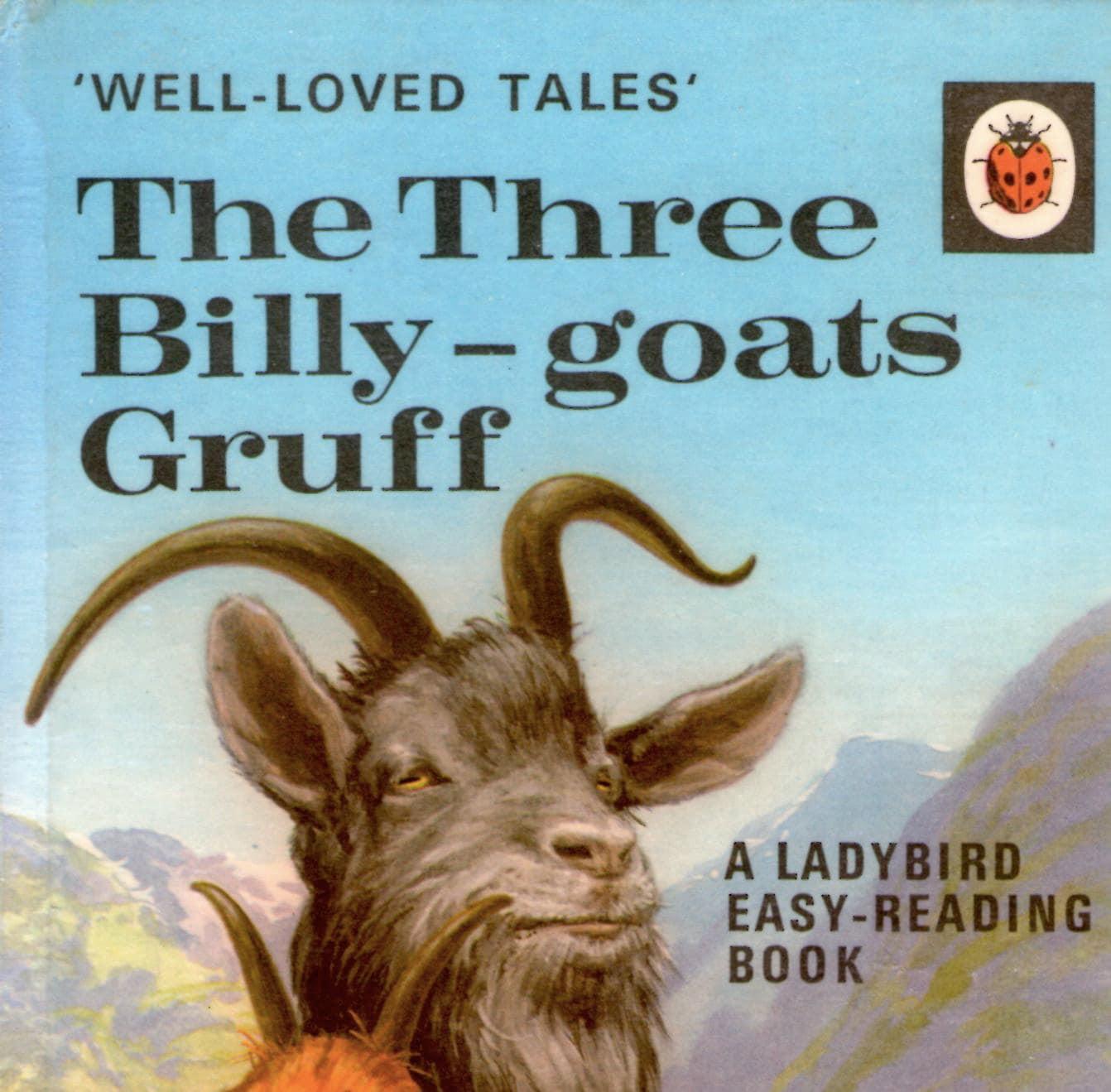 Vintage Ladybird Book The Three Billy Goats Gruff