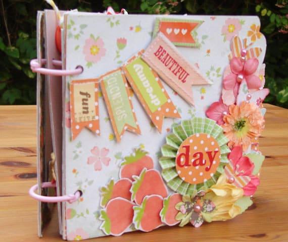 Mini scrapbook Album Handmade Mini Album Srapbook album