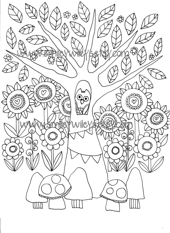 43 Download Printable Secret Garden Coloring Book Colored