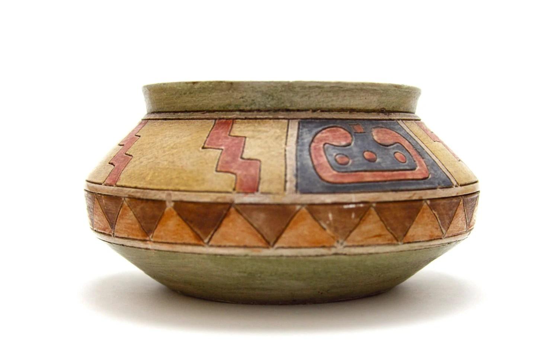 Native American Southwest Pottery Bowl By Tribalpaths On Etsy