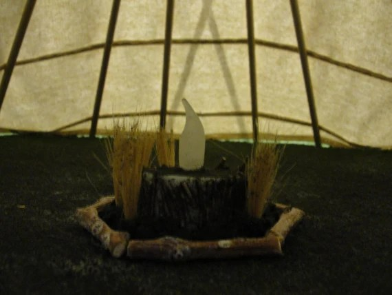 Miniature Flickering Fireplace or Firepit Kit for Dioramas and Projects - DIY - Do it yourself