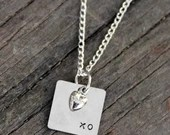 "Metal Hand Stamped ""..."